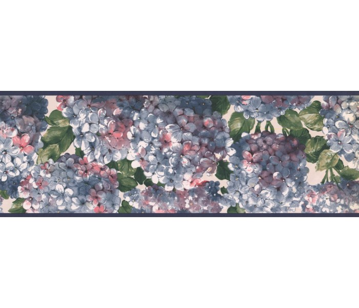 New  Arrivals Wall Borders: Floral Wallpaper Border RC005152B