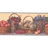 New  Arrivals Wall Borders: Fruits Wallpaper Border RC005162B