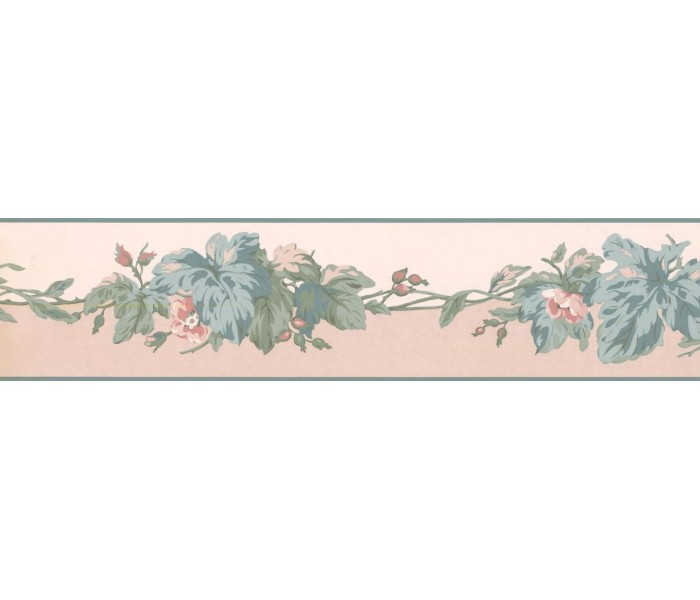 New  Arrivals Wall Borders: Leaves Wallpaper Border RC5351B