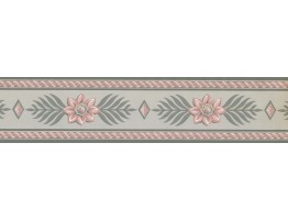 Floral Wallpaper Border RC5422B