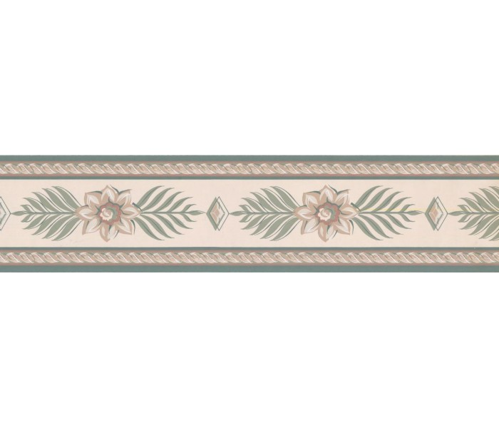 New  Arrivals Wall Borders: Floral Wallpaper Border RC5424B