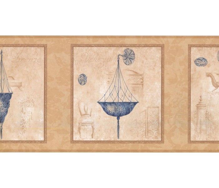 New  Arrivals Wall Borders: Chandelier Light Wallpaper Border RG3759B