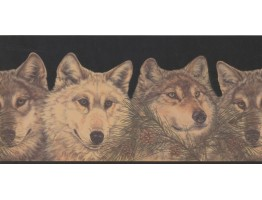 Prepasted Wallpaper Borders - Animals Wall Paper Border RST2521
