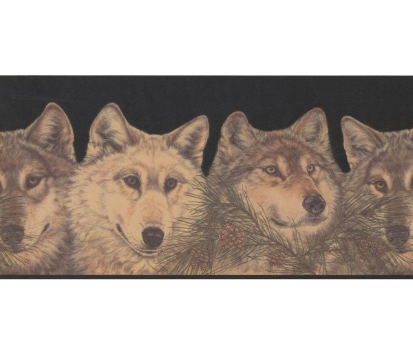 New Arrivals Animals Wallpaper Border RST2521 Warner