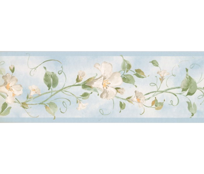 New  Arrivals Wall Borders: Floral Wallpaper Border RY3252B