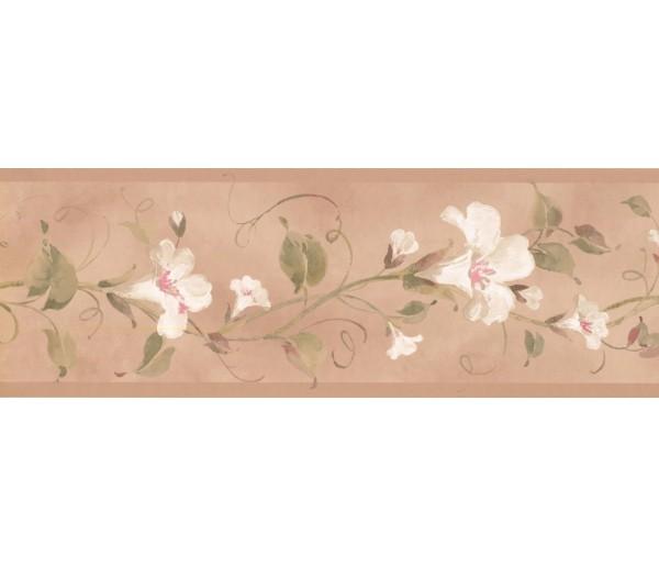 New  Arrivals Wall Borders: Floral Wallpaper Border RY3254B
