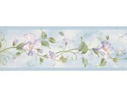 Floral Wallpaper Border RY3255B