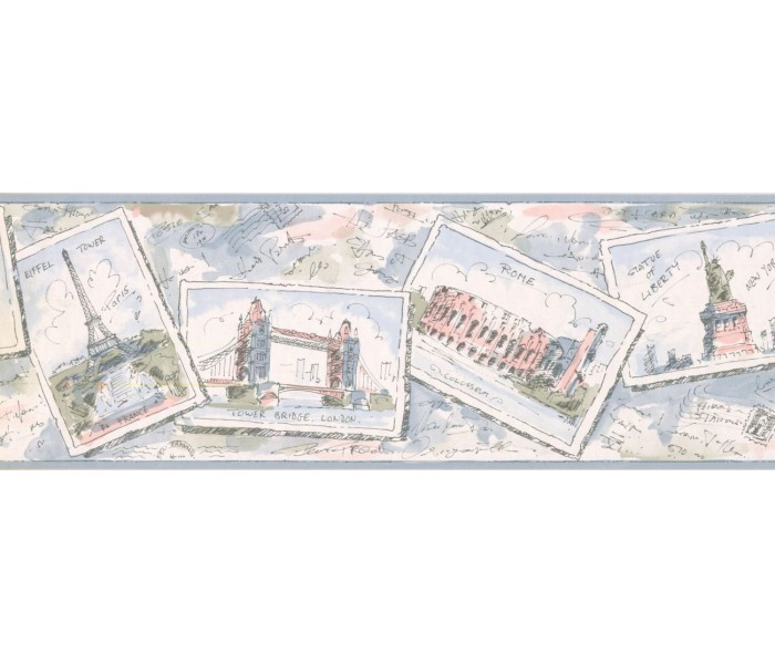 New  Arrivals Wall Borders: Cards Wallpaper Border RY3341B