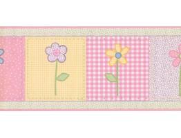 Floral Wallpaper Border SC0040504