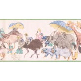 New  Arrivals Wall Borders: Animals Wallpaper Border SM605B