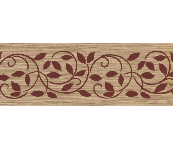 New  Arrivals Wall Borders: Leaves Wallpaper Border SS75497