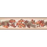 New  Arrivals Wall Borders: Fruits Wallpaper Border TC48041B