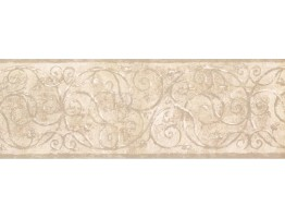 Prepasted Wallpaper Borders - Vintage Wall Paper Border TT5200B