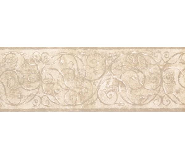 Prepasted Wallpaper Borders - Vintage Wall Paper Border TT5200B