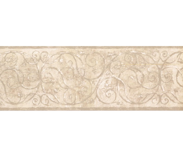 New  Arrivals Wall Borders: Vintage Wallpaper Border TT5200B