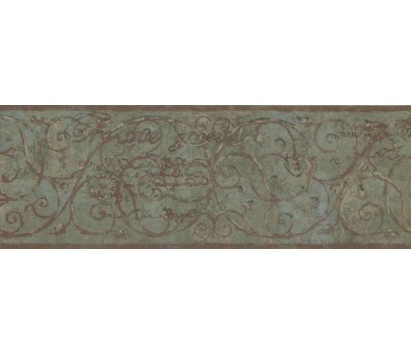 New  Arrivals Wall Borders: Vintage Wallpaper Border TT5203B