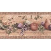 New  Arrivals Wall Borders: Fruits Wallpaper Border TT5265B