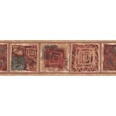 Prepasted Wallpaper Borders - Modern Wall Paper Border UE919B