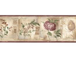 Floral Wallpaper Border VR74557L