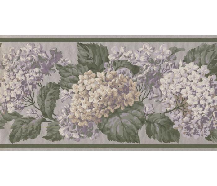 New  Arrivals Wall Borders: Floral Wallpaper Border VT4636B