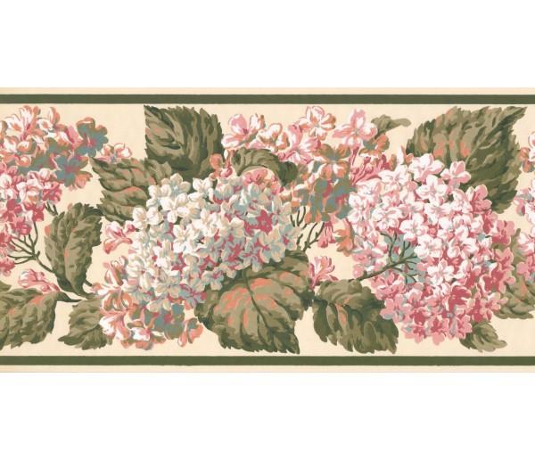 New  Arrivals Wall Borders: Floral Wallpaper Border VT4638B