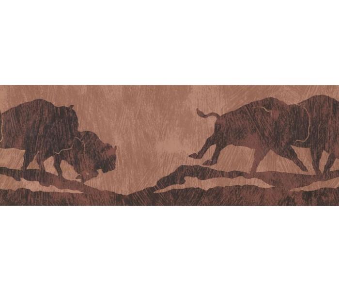 New  Arrivals Wall Borders: Animals Wallpaper Border WD4298B