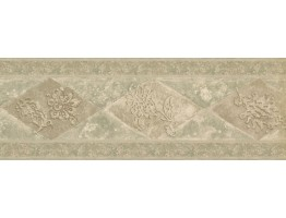 Prepasted Wallpaper Borders - Vintage Wall Paper Border WD76846