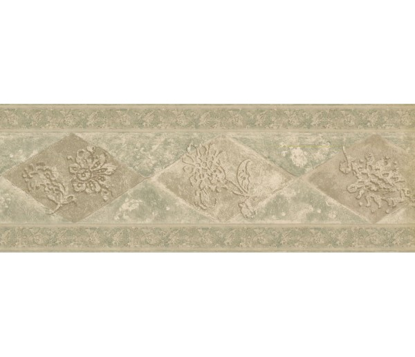 New  Arrivals Wall Borders: Vintage Wallpaper Border WD76846