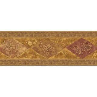 7 in x 15 ft Prepasted Wallpaper Borders - Vintage Wall Paper Border WD76847