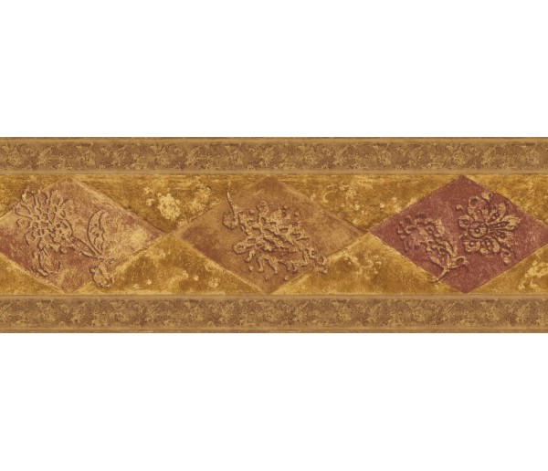 New  Arrivals Wall Borders: Vintage Wallpaper Border WD76847