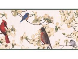 Birds Wallpaper Border WE612B