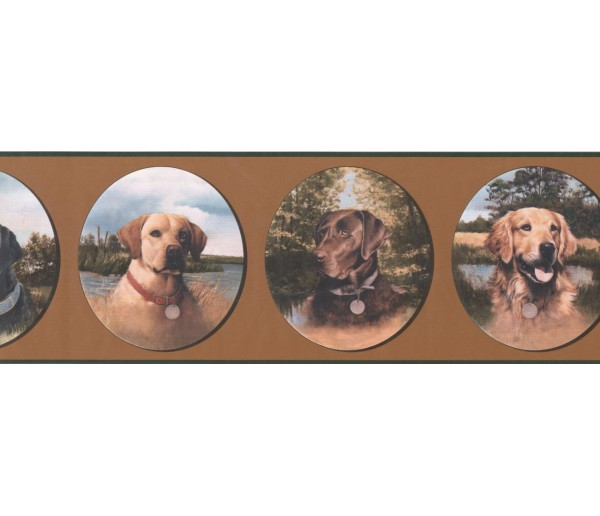 New  Arrivals Wall Borders: Dogs Wallpaper Border WE630B