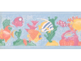 Aquarium Wallpaper Border WE702B