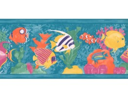 Aquarium Wallpaper Border WE703B