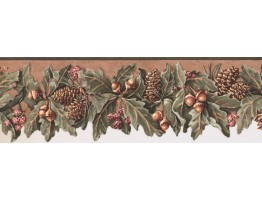Prepasted Wallpaper Borders - Fruits Wall Paper Border WL5577B
