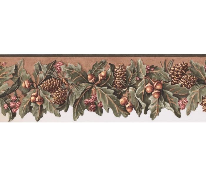 New  Arrivals Wall Borders: Fruits Wallpaper Border WL5577B