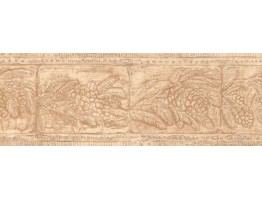 Prepasted Wallpaper Borders - Leaves Wall Paper Border WL5664B