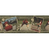 New  Arrivals Wall Borders: Baseball Wallpaper Border WS105
