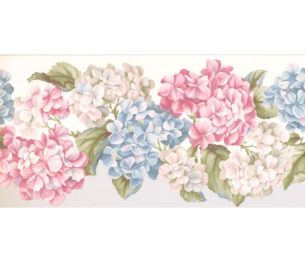 New  Arrivals Wall Borders: Floral Wallpaper Border WV7460B
