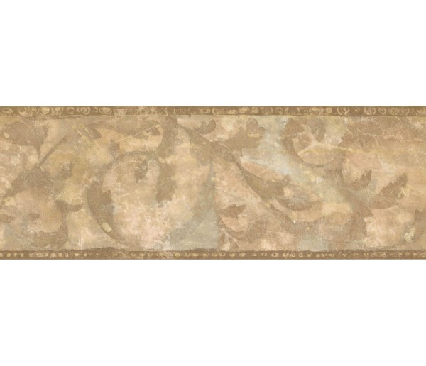 New  Arrivals Wall Borders: Leaves Wallpaper Border ZN76162