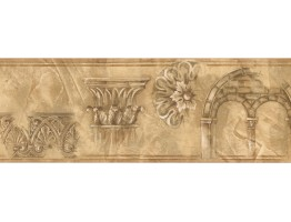 Prepasted Wallpaper Borders - Vintage Wall Paper Border ZN76182
