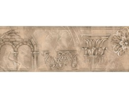 Prepasted Wallpaper Borders - Vintage Wall Paper Border ZN76183