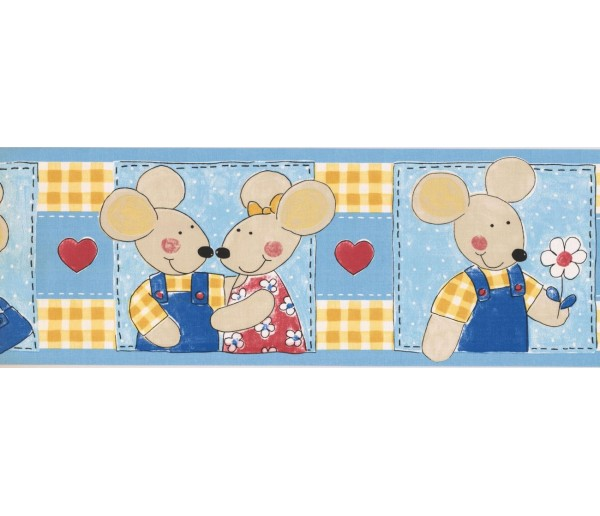 Prepasted Wallpaper Borders - Kids Wall Paper Border ZW74523