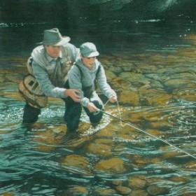 Fishing Wallpaper Borders