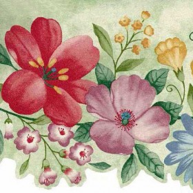 Floral Wallpaper Borders