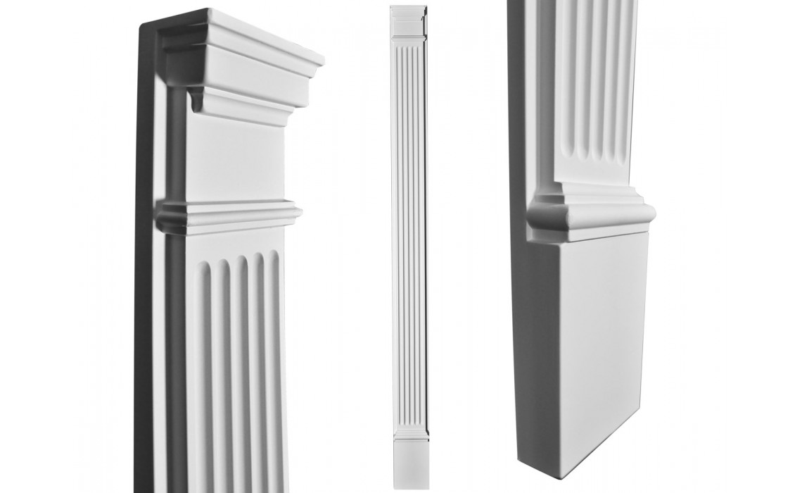 Interior columns: An architectural marvel with dual powers