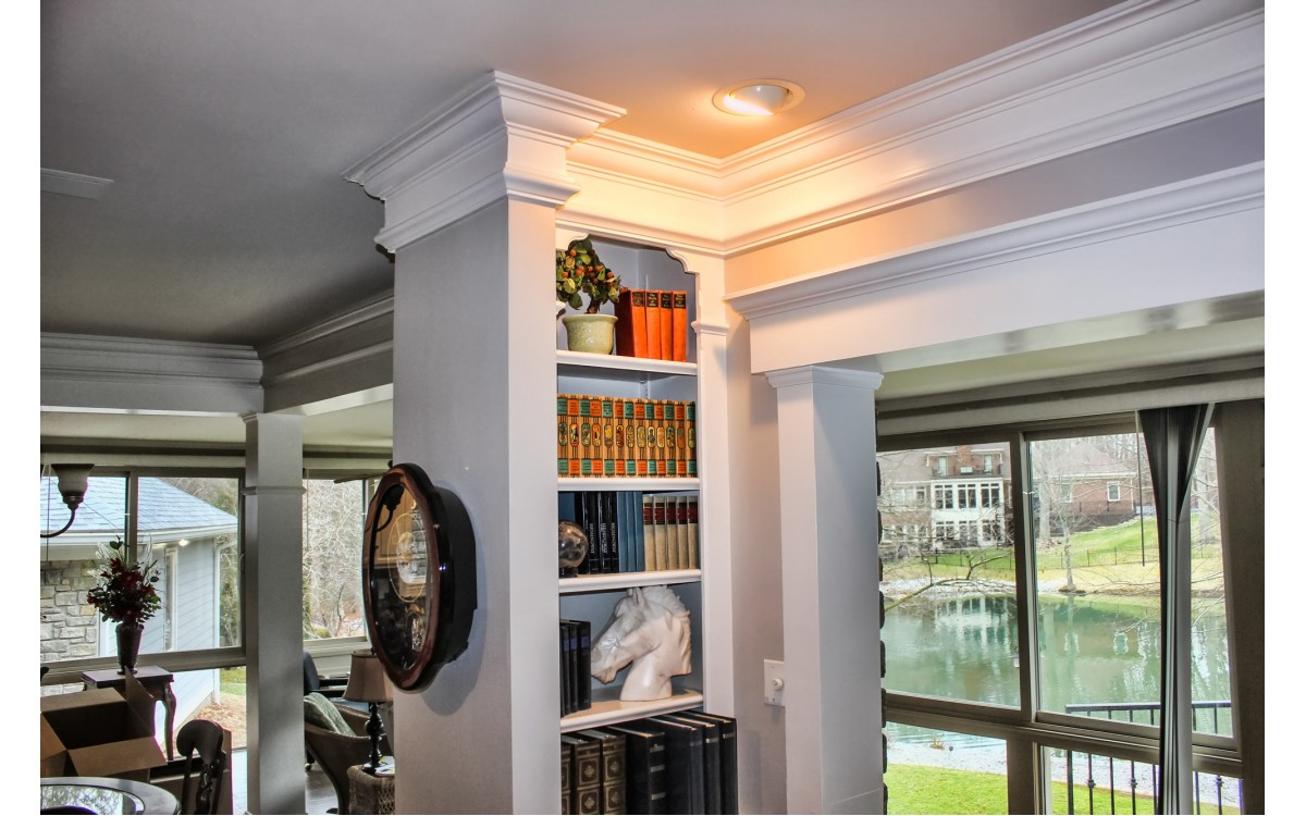 Installing Built Up Crown Molding in 11 Easy Steps