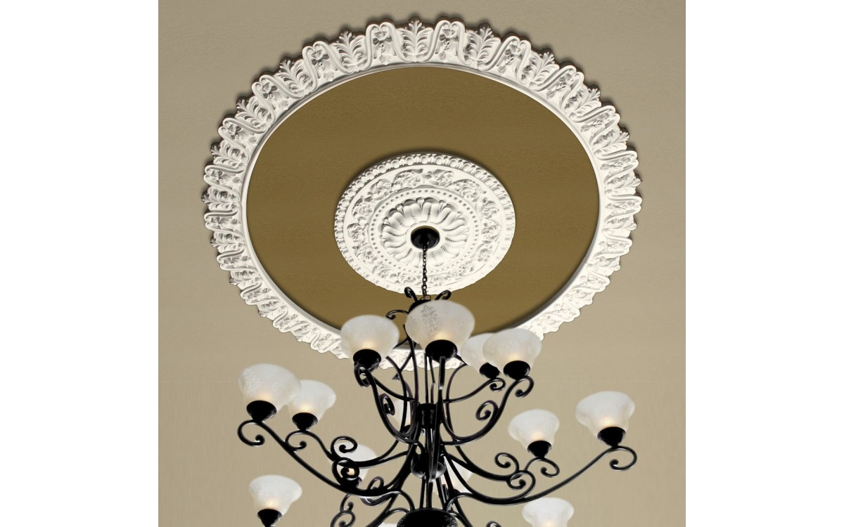 Removing a Ceiling Medallion in 7 Quick Steps
