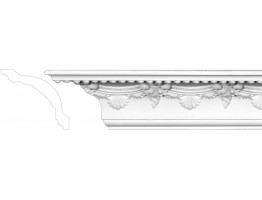 Crown Molding 3 1/4 inch Manufactured with a Dense Architectural Polyurethane Compound