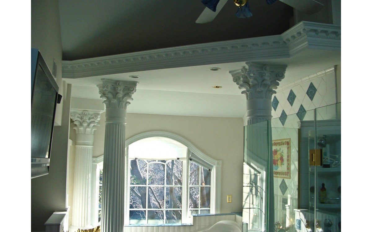 Interior and Exterior Column Materials